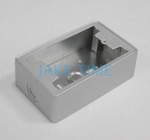 【不反光好安裝】鋁製白鐵烤漆專業插座電源盒