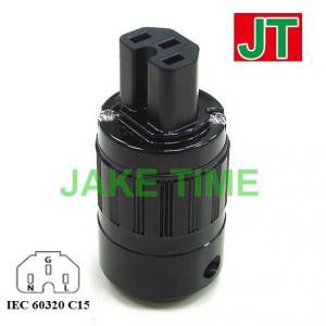 Audio Connector C15 鍍金歐規音響級電源插座