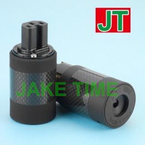 Audio Connector C15 鍍金歐規音響級電源插座 (碳纖維外殼)