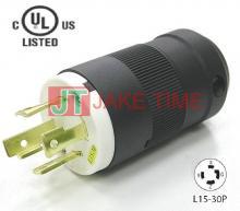 NEMA L15-30P 美規引掛式插頭