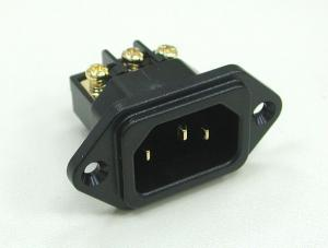 Audio Plug C14 鍍金歐規音響級電源插頭