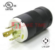 NEMA L16-20P 美規引掛式插頭