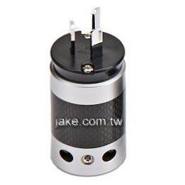 銀色烤漆,碳纖維外殼,鍍銠澳規音響級電源插頭
